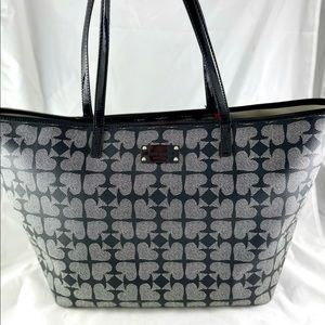 Kate Spade Harmony Pebbled Ace of Spades Tote